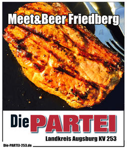 Meet&Beer mit der Partei DIE PARTEI in Friedberg / BY