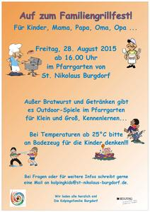 Familiengrillfest