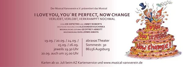 VERLIEBT, VERLOBT, VERKRAMPFT NOCHMAL! (I love you, you´re perfect, now change!) | Musical | Liveshow