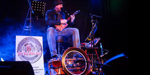 Hannover One Man Blues Band am 29.8.2015 live im Filou Steinhude