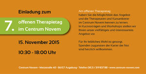 7. offener Therapietag