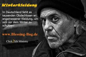 Winterjacken für Obdachlose - Blessing-Bag.de