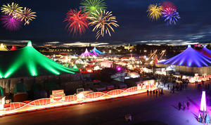 Tollwood Silvesterparty auf der Theresienwiese