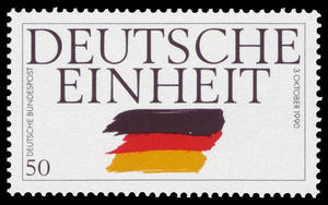 https://commons.wikimedia.org/wiki/File:DBP_1990_1477_Deutsche_Einheit.jpg#/media/File:DBP_1990_1477_Deutsche_Einheit.jpg
