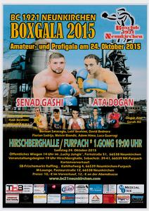 Neunkircher Boxgala 2015: Senad Gashi is coming