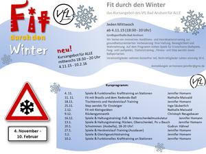 """Fit durch den Winter"""