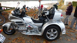 Honda Goldwing 1800 Trike !