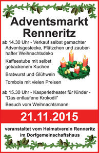 Adventsmarkt in Renneritz