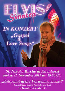Gospel & Love Songs in der St. Nikolai Kirche in Kirchhorst