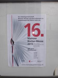 16 Mainzer Bücher-Messe