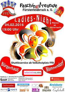 Oh yes it´s Ladies Night / Weiberfasching