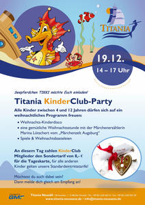 KinderClub-Party im Titania Neusäß