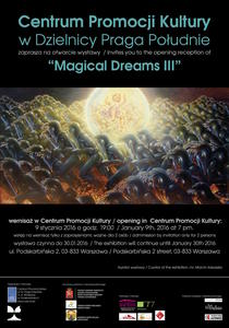 MAGICAL DREAMS III im Kulturzentrum in Warschau