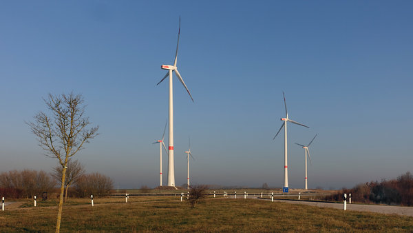 windräder, windschill