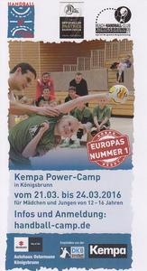 BHC: HANDBALL-POWER-CAMP FÜR 12- BIS 16-JÄHRIGE IN DEN OSTERFERIEN