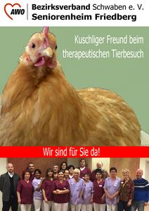 Therapeutischer Tierbesuch am Friedberger Rothenberg