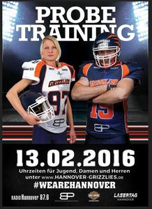 AMERICAN FOOTBALL PROBETRAINING