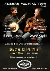 Saisonstart der Country & Western Friends Kötz mit Bluegrass & Country Music