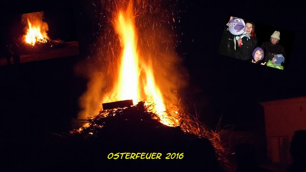 Osterfeuer 24.3.2016 - Nebra !