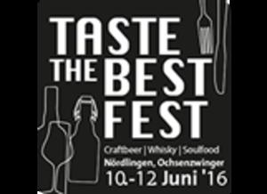Taste the Best - Fest - die Genussmesse in Nördlingen