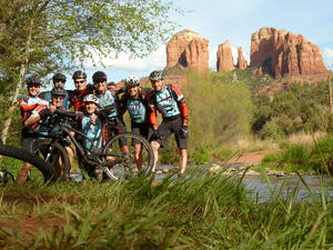 Meitinger Mountainbike Gruppe auf Canyon-Trails in USA