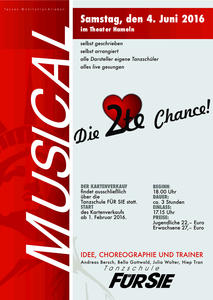 Musical 'Die 2. Chance!'