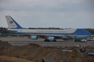 Airforce One in Hannover