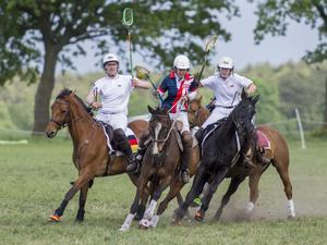 1. Internationales Polocrosse-Turnier in Engensen