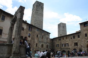 Besuch in San Gimignano.