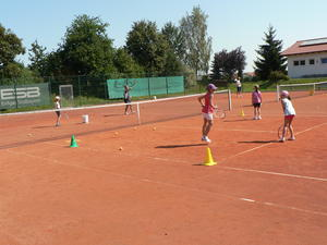 Tennismatch am Marktsonntag in Mammendorf!
