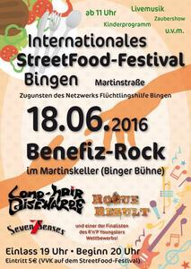 Street-Food-Festival Bingen mit JIL and Friends am Samstag in der Martinstraße