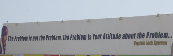 The problem is not ...