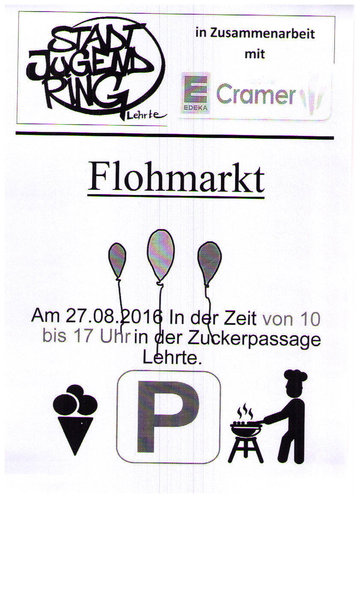 Flohmarkt am edeka center lehrte lehrte for Flohmarkt a2 center