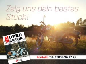 Museumsmagazin sucht dein Moped