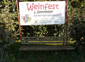Weinfest in Dollbergen am 3.Sept. 2016