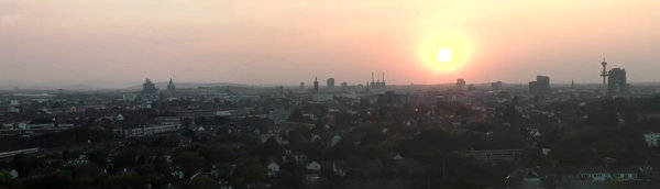 hannover, sonnenuntergang, panorama, stadtpark-hannover