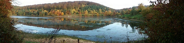 Twistesee im Oktober