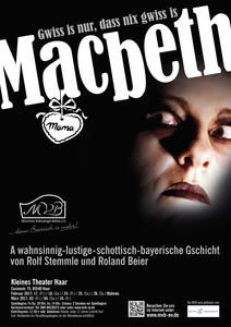 Macbeth -Gwiss is nur, dass nix gwiss is-