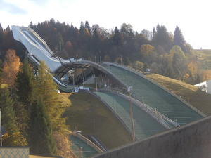 Skisprungschanze in Garmisch
