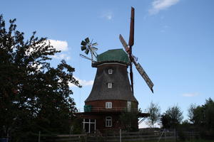 Windmühle Neu Bukow August 2016