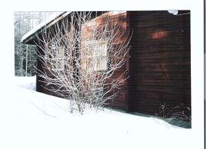 Unser Sommerhaus in Pyhitty im Winter