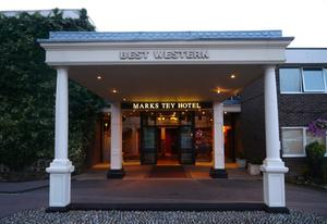 Unser Hotel: 'Best West MARKS TEY'