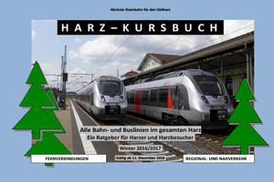 Harz-Kursbuch Winter 2016 - 2017