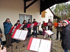 Posauenchor Seershausen musizierte in Seershausen am 24.12.2016