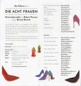 Flyer vom Leibniz-Theater