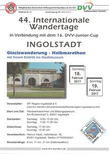 44. Internationale Wandertage in Ingolstadt