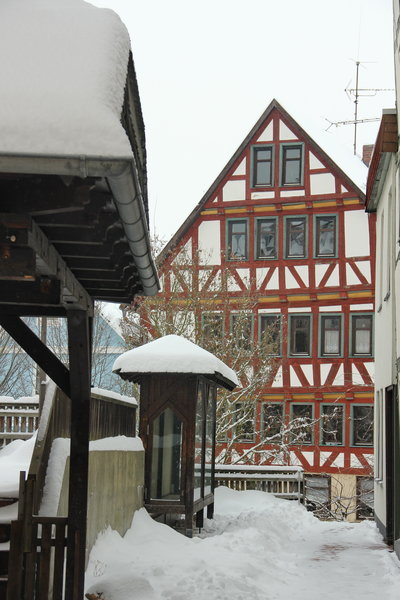 winter, altstadt-bad-wildungen