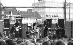 Psychedelic-Rock-Gruppe Can 1971 in Braunschweig