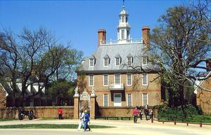 © AW  1996, vom DIA: Der Governor's Palace in Williamsburg, VA, USA