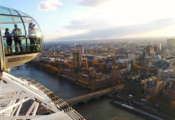 london, riesenrad, eye